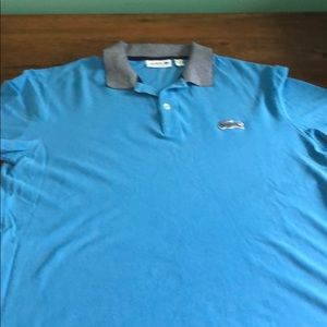 Men's Blue Lacoste Polo